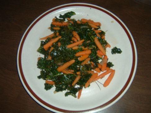 Organic Kale n Carrot blend.