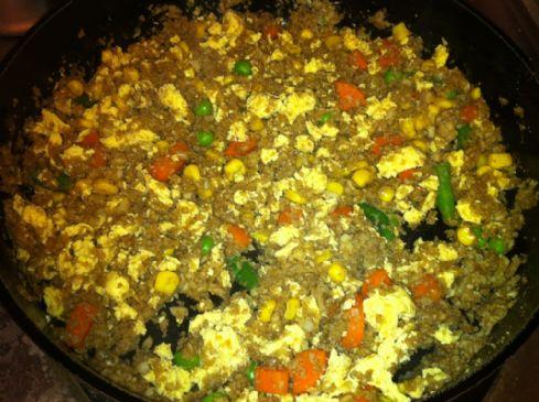 Cauliflower Faux-Fried Rice