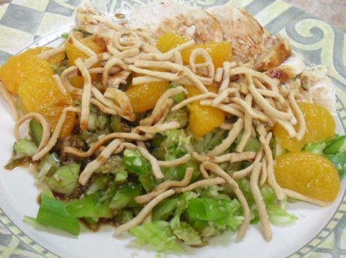 Mandarin Orange Chop Chop Chicken Salad