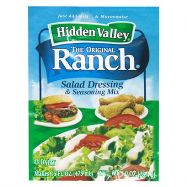 Hidden Valley Ranch with Lite Mayonnaise (2 ser. = 4 T.)