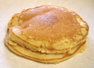 Orange Cornmeal Pancakes