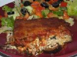 Sharon's Remake of Halle's Eggplant Lasagne