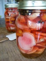 Pretty in Pink Pickles