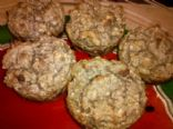 Gluten Free Oatmeal Applesauce Muffins