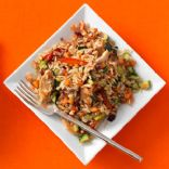 Chicken and Brown Rice Stir Fry