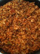 Cheesy Spaghetti Casserole