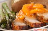 Pork Chops & Peaches in the Crock Pot