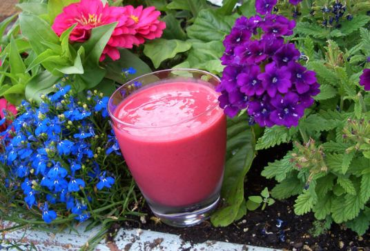 Raspberry Cordial Smoothie