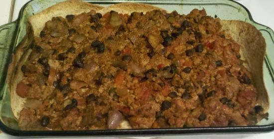 Enchilada Casserola (Turkey)