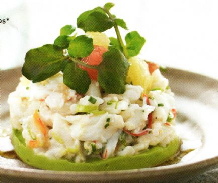Prawns with Citrus Salad & Avocado