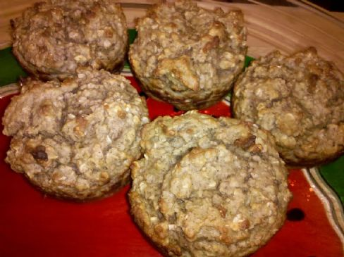 Gluten Free Oatmeal Applesauce Muffins Recipe | SparkRecipes