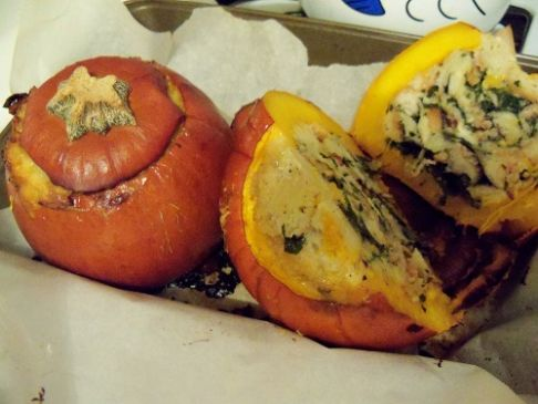 introduction stuffed pumpkin thanksgiving flavors stuffed pumpkin ...