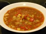 Mexican Vegetable Soup - Low Sodium