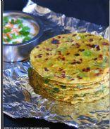Paneer & Mixed Veg Paratha