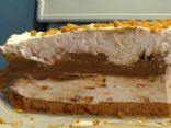 Chocolate Pudding Skor Cheesecake (No-bake)