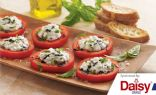 Italian Tomatoes with Herbed Cheese & Toast from Daisy Brand