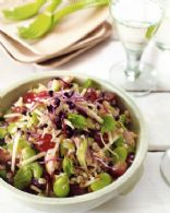 Chicken, Pearl Barley & Grape Salad