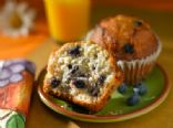 Blueberry Flax Seed Muffins
