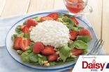 Strawberry, Spinach, & Cottage Cheese Salad from Daisy Brand
