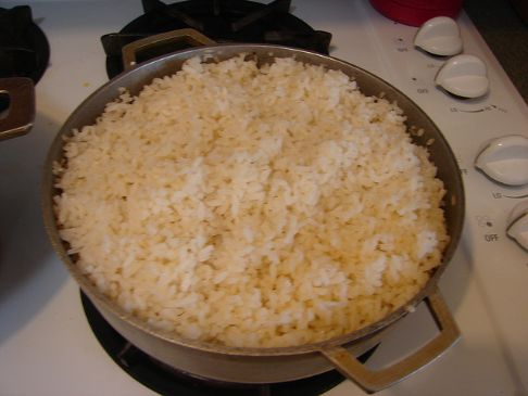 Arroz con gandules y tocino - Rice with Pigeon Peas and ...