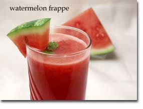 Watermelon Frappe