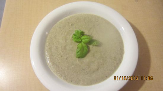 Baby Bella Cream of Mushroom Soup