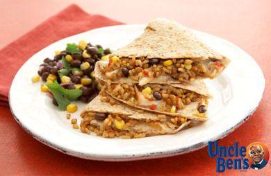 Whole Grain Santa Fe Chicken Quesadilla