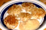LATKAS and APPLESAUCE (Potato Pancakes)