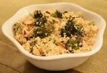 Roasted Broccoli Couscous Salad