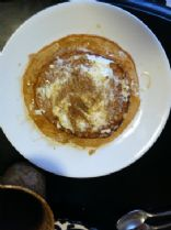 Protein Carrot Cake Pancakes