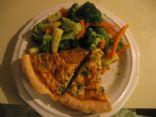 sundried tomato & broccoli quiche (losingjess)