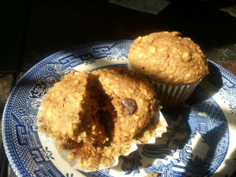 Beth's Blueberry Oatmeal Muffins