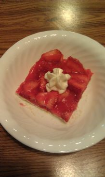 Fresh No Bake Strawberry Pie (Sugar Free)