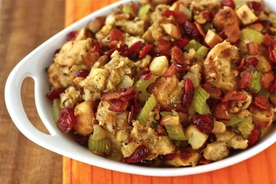 Sweet & Savory Stuffing (gluten free)