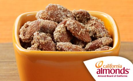 Cinnamon Glazed Almonds