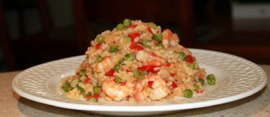 Prawn Risotto