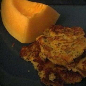 Zucchini Sweet Potato Pancakes