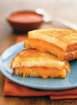 Grilled Deluxe Cheese Sandwich