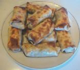 Baked and steamed Egg Rolls