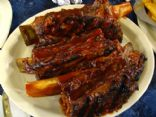Fall off the bone beef ribs