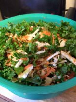Edamame Kale Salad