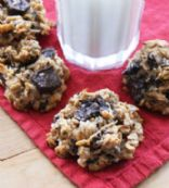 Peanut Butter, Banana, Coconut, Chocolate Chip Cookies