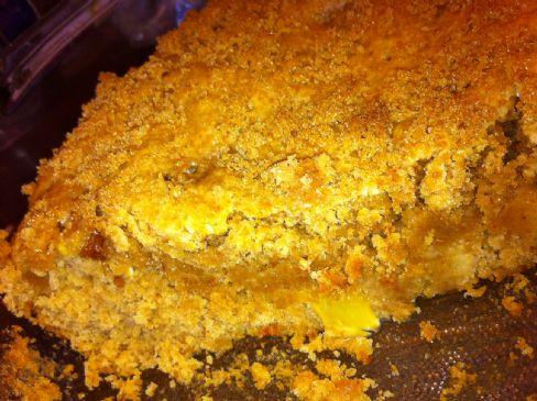 Apple Peanut Butter Oatmeal Breakfast Cake
