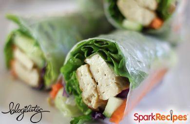 Fresh Vegan Spring Rolls
