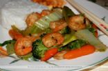 No Fry Stir Fry Chicken & Shrimp