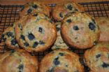 Lauren's Blueberry Muffins