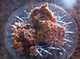 Peanut Butter and Jam Granola Bars