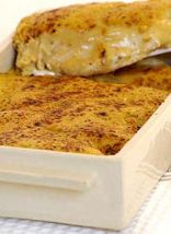 Chicken Bake with Cheesy Mustard Topping
