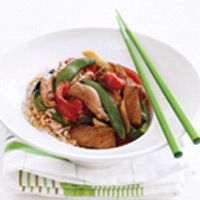 Pork & Vegetable Stir Fry