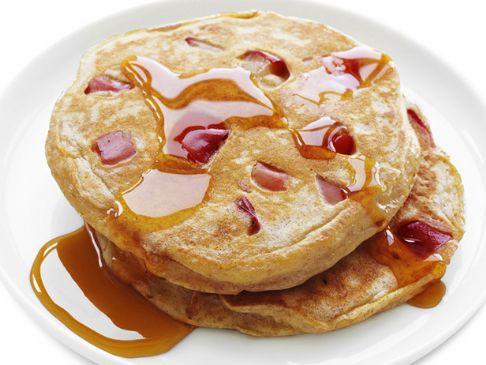 Whole Wheat Apple Pancakes **Low Fat